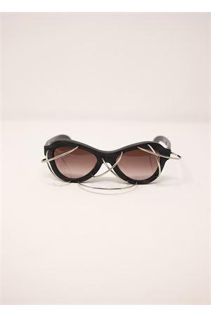 Occhiali da sole modello Y2 neri Kuboraum | 53 | MASKEY2NERO
