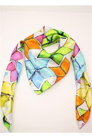 foulard in 100% seta con stelle La Dolce Vista | -709280361 | FLUOSTARFLUOSTAR