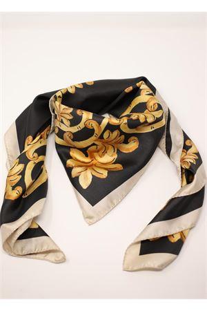 foulard in seta con fantasia barocca La Dolce Vista | -709280361 | VERYBAROQUEBAROQUEBLACK