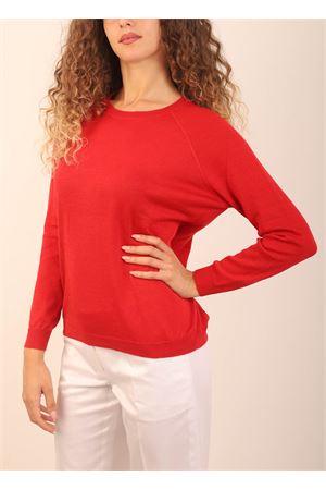 maglia in cashmere rosso Laboratorio Capri | 7 | FELPA30607ROSSO
