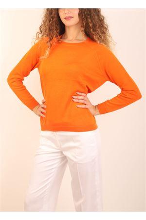 maglia in cashmere arancione Laboratorio Capri | 7 | FELPA31719ARANCIO