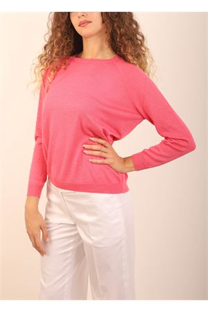Pink cashmere and silk sweater  Laboratorio Capri | 7 | FELPA32325ROSA