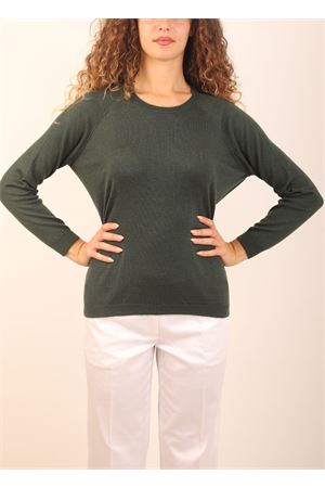 Green cashmere sweater Laboratorio Capri | 7 | FELPABORNEO