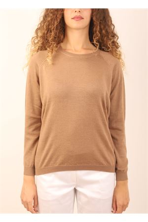 Camel color cashmere sweater Laboratorio Capri | 7 | FELPAGONG