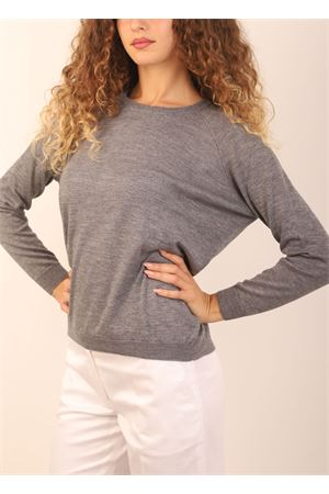 Grey cashmere sweater  Laboratorio Capri | 7 | FELPAGRIGIO31067