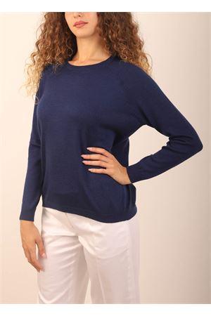maglia in cashmere blu Laboratorio Capri | 7 | FELPAINDACO