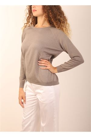 Grey cashmere sweater Laboratorio Capri | 7 | FELPAMASTICE