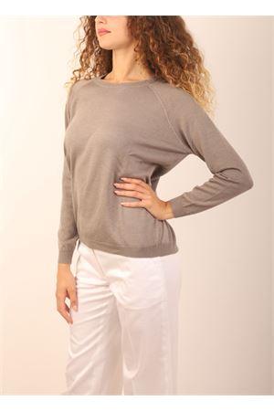 maglia in cashmere grigio Laboratorio Capri | 7 | FELPAMASTICE