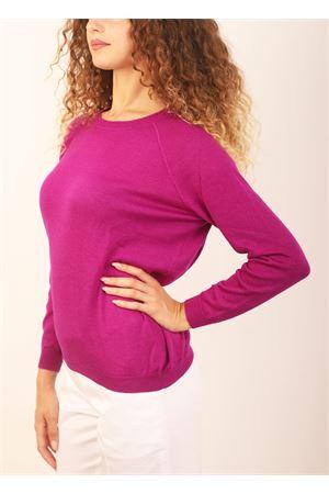 Fuchsia cashmere sweater Laboratorio Capri | 7 | FELPANOANOA