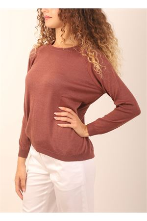 Brick red cashmere sweater Laboratorio Capri | 7 | FELPAWANTED