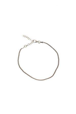 Silver adjustable bracelet  Manè Capri | 36 | MANEBRACCSERPARGENTO