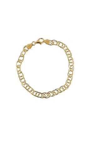 bracciale catena in argento dorato Mediterranee Passioni | 36 | BRACCIALELARGOARGENTODORATO