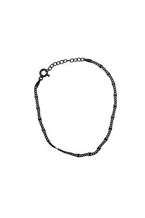 bracciale in argento nero Mediterranee Passioni | 36 | BRACCIALESOTTILENERO