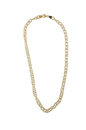 Golden silver chain necklace  Mediterranee Passioni | 35 | CATENALARGAARGENTODORATO