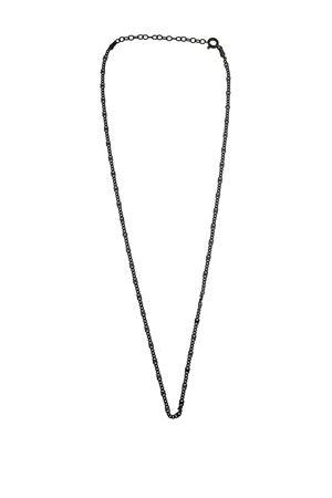 Catena sottile in argento nero Mediterranee Passioni | 35 | CATENASOTTILEARGENTONERO
