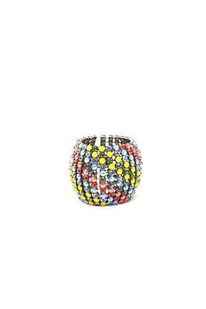 bracciale alto con swarovski colorati Bijoux de Capri | 36 | BR001MKSTONES