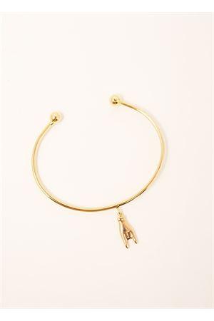 Bracelet with superstitious symbol of horns Sciò Sciò | 36 | BRACCCORNOOROCORNA