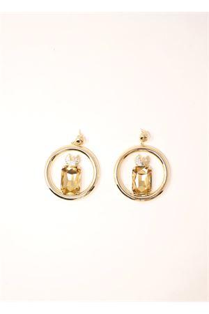 orecchini faraglioni con pietre swarovski Faraglioni | 48 | OR001FAMETALLOCONSWAR