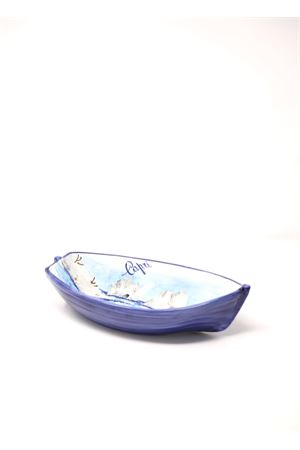 Ceramic plate rowboat-shaped  Sea Gull Capri | 5032235 | BARCACAPRICAPRI