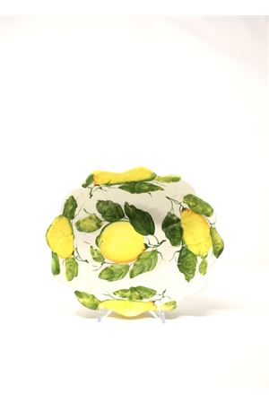 ceramic bowl with leaves and lemons  Sea Gull Capri | 5032235 | CIOTOLAFOGLIELEMONSFOGLIE