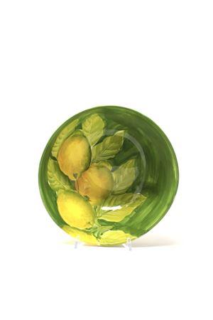 ciotola con limoni in ceramica Sea Gull Capri | 20000026 | CIOTOLAMEDIALEMONS