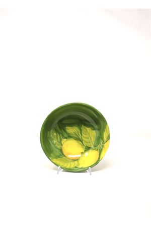 Small bowl with painted lemons Sea Gull Capri | 20000026 | CIOTOLAPICCOLALEMONS