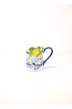 Ceramic Mug with Faraglioni painting  Sea Gull Capri | 20000026 | MUGCAPRICAPRI