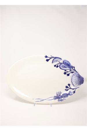 piatto ovale con decorazioni marine Sea Gull Capri | 5032235 | OVALEMAREBLU