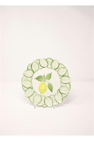 piatto da frutta con limoni e foglie Sea Gull Capri | 5032235 | PIATTOFRUTTALIMONIFOGLIE