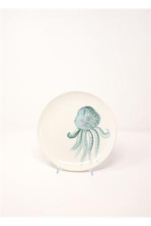 piatto con medusa turchese Sea Gull Capri | 5032235 | PIATTOMEDUSAFRUTTA