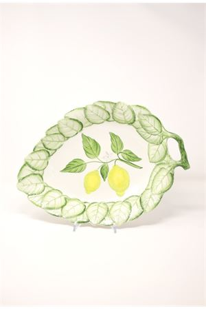 Serving dish with lemons and leaves Sea Gull Capri | 5032235 | PORTATACIOTOLAFOGLIALEMONS