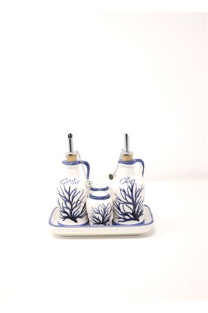 Blue corals seasoning set  Sea Gull Capri | 20000026 | SETCONDIMENTIBLU
