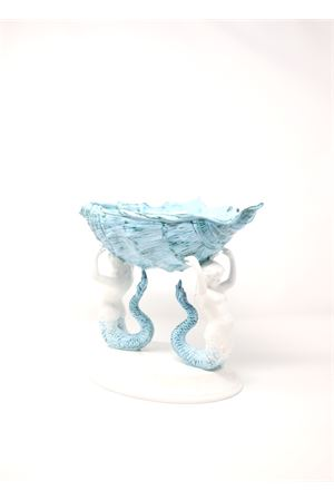 Merdmaids - shaped ceramic sculpture  Sea Gull Capri | 20000025 | SIRENECONCHIGLIATURCHESE