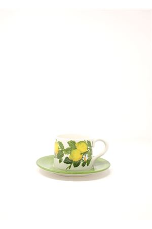 Coffee cup with lemons  Sea Gull Capri | 20000026 | TAZZALIMONILEMONS