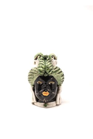 vaso a forma di testa di moro verde Sea Gull Capri | 5032238 | TESTAUOMOVERDE