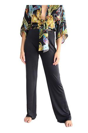 pantaloni in jersey nero modello a palazzo Aram Capri | 9 | PANTALONEJERSEYPALAZZONERO