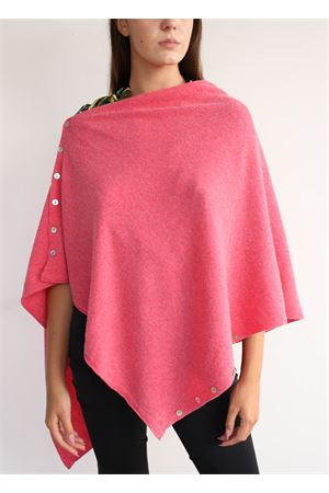 Pink cape  Aram Capri | 52 | PONCHOBOTTONIROSA
