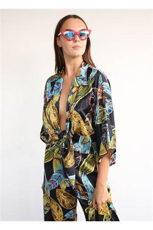camicia in pura seta con scollo profondo Capri Chic | 6 | CAMICIANODONERO