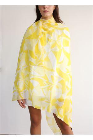 Sciarpa in chiffon giallo Capri Chic | 77 | FOULARDCHIFFONGIALLO