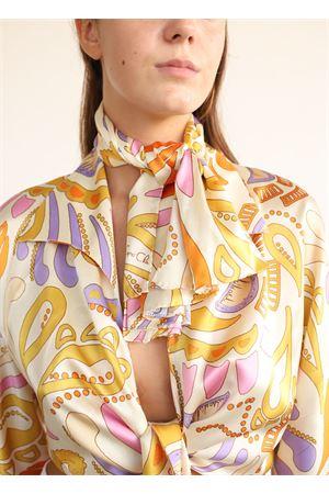 foulard in seta a fantasia Capri Chic | -709280361 | FOULARDSETAPICCBEIGE