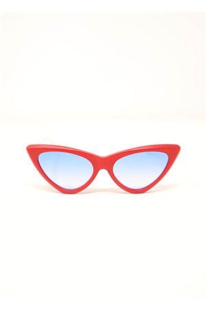 occhiali da sole cat eye rossi da donna Capri People | 53 | VALERYROSSO