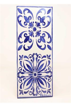 Ceramic cutlery holder with majolica Ceramicapri | 20000026 | POGGIAPOSATEMAIOLICHEBLU