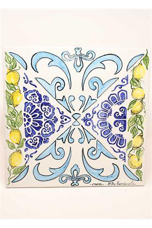 Hand decorated with majolica and Capri lemons Ceramicapri | 5032235 | SOTTOPIATTOMAIOLICHELIMONILIMONI