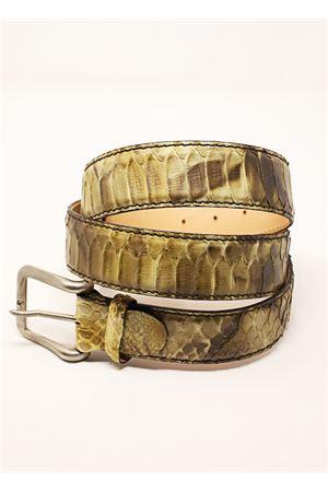 cintura in pitone verde Da Costanzo | 22 | CINTURAPITONEVERDE