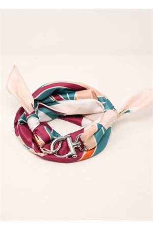 Capri scarf with hook closure  Grakko Fashion | -709280361 | FOULARDGANCIORIGHEVERDEVIOLA