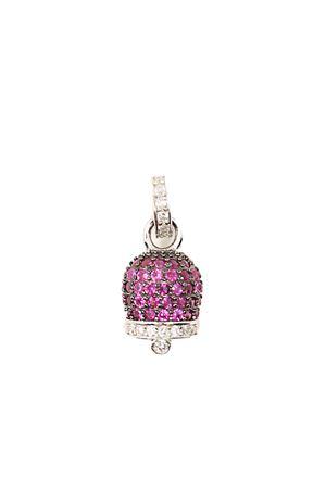 Ciondolo campanella di Capri con zirconi colorati Manè Capri | 20000055 | CAMPANELLAZIRCONIMEDCILIEGIA
