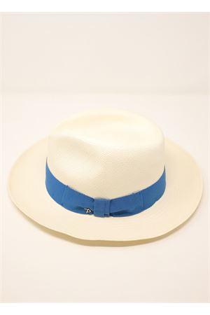 Cappello modello Panama unisex Panizza 1879 | 26 | PANIZZAPANAMABIANCONASTROAZZURRO
