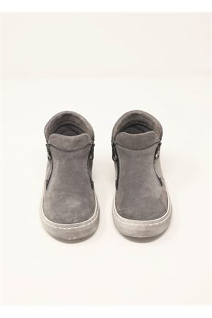 Grey suede ankle boots Baby Walker | 12 | BW04GRIGIO