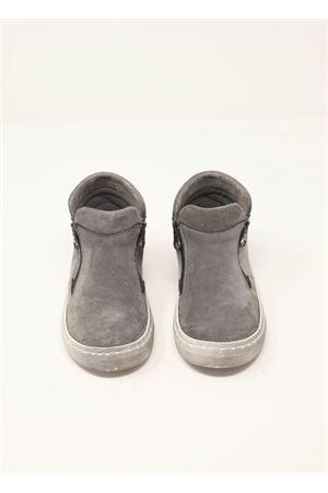 stivaletti in camoscio grigio Baby Walker | 12 | BW04GRIGIO
