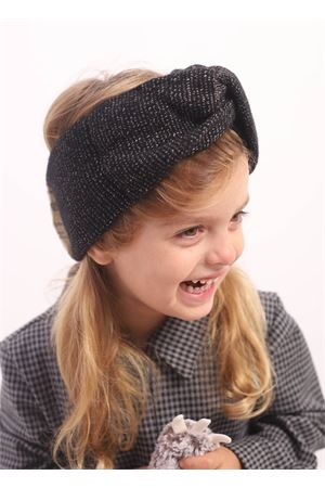 Black wool band for baby girl  Collegian | 20000041 | COL11NERO